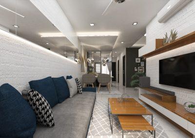 Taman Jerlun Jaya Living Room
