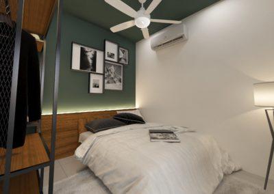 Taman Jerlun Jaya Master Bedroom